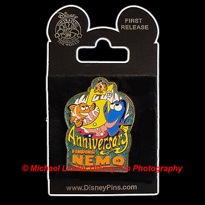 DISNEY FINDING NEMO 5th ANNIVERSARY PIN FEATURING MARLIN & DORY