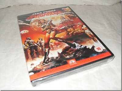 BARBARELLA - JANE FONDA dvd UK RELEASE NEW FACTORY SEALED