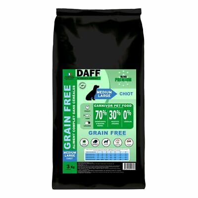 DAFF Grain Free Medium-Large Chiot