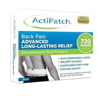 Actipatch - Back Pain Advanced Long Lasting Relief - 1 2 3 6 12 Packs