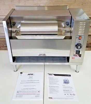 APW WYOTT M-83 120V Bun Grill Toaster - Great Condition