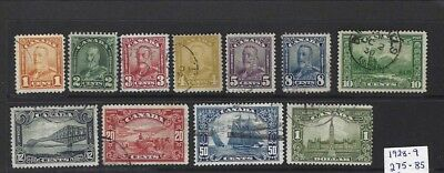 Canada 1928-1937 - 4 complete sets in good clean condition