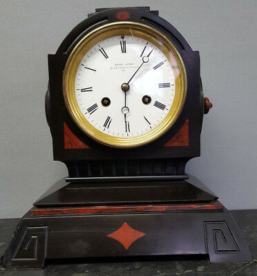 Superb Antique French Mantle Clock with Bell Strike. Jacob Bethel,Hull.