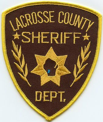 Lacrosse County Wisconsin Wi Sheriff Police Patch