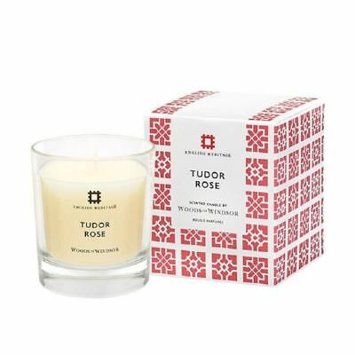 Woods of Windsor English Heritage Tudor Rose Scented Candle - 1 2 3 6 12 Cases