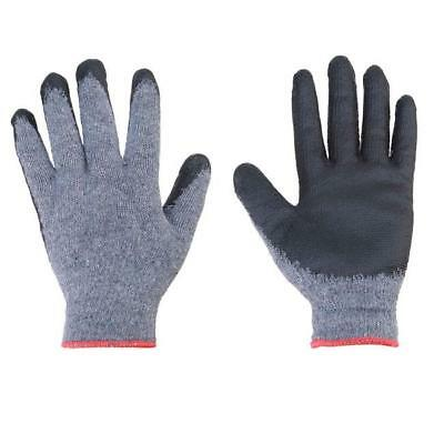 1Pair Thermo Winter Warm Grip Gloves - Latex Palm Coated Gardening DIY NEW FI