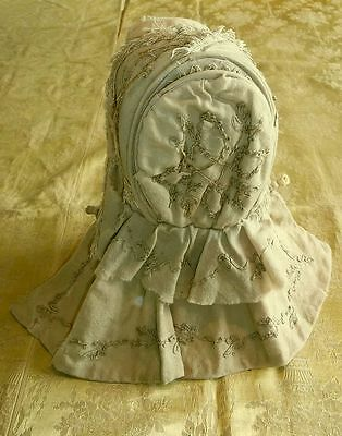Antique 1870's Child's Bonnet - Rare