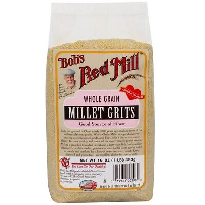 New Bob's Red Mill Whole Grain Millet Grits Stone Ground Gluten Free Natural