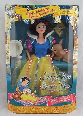 Disney's Snow White Barbie, Princess Stories Collection, New in Box