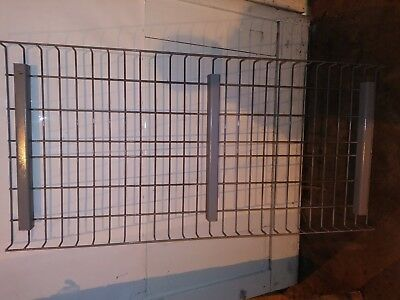 "24"" x 52"" long Wire Mesh Deck for Pallet Rack Shelving decking fits 24"" uprights"