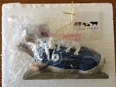Cow Parade 2000 MooShoe #9125 Numbered, New in Box with Tag (Box Minor Damage)