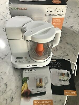 Baby Brezza Glass One Step Baby Food Maker 4 Cup Capacity - New, Never Used