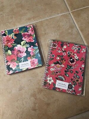 Vera Bradley Mini Notebooks. Lot of 2. Free shipping. Superbloom/Coral Floral