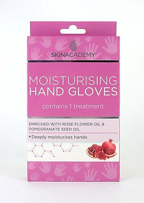 Skin Academy Moisturising Hand Gloves Deeply Moisturises Hand 1 Treatment