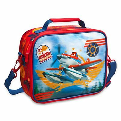 Disney Store Planes Fire & Rescue Dusty Red Boys 3D Lunch Box New With Tags!