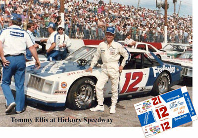 CD_3203 #12 Tommy Ellis    1:43 Scale Decals   ~NEW~