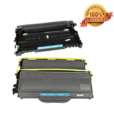 3PK TN330 DR360 Toner Drum For Brother DCP7030 DCP7040 MFC7840W Ink High Yield