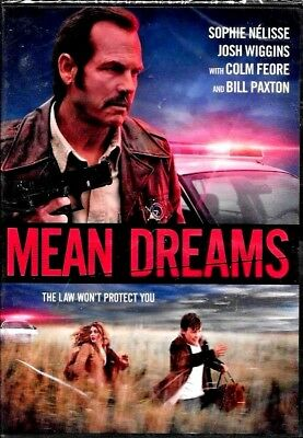 Mean Dreams BILL PAXTON 2017 DVD FACTORY SEALED NEW FREE SHIPPING + TRACKING US