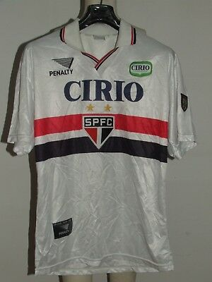 SOCCER JERSEY TRIKOT MAILLOT CAMISETA SPORT SAN PAOLO n °6 90'S size M