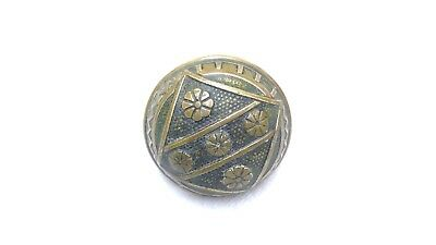 Ornate Antique Solid Brass Single Door Knob Eastlake