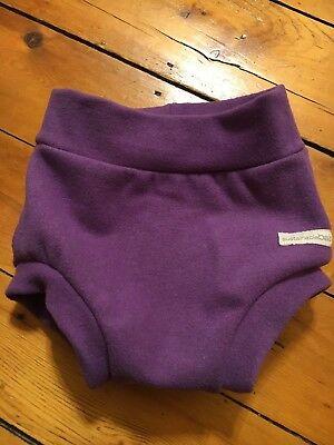 Sustainablebabyish Sloomb Wool Interlock Cover Lila Size L