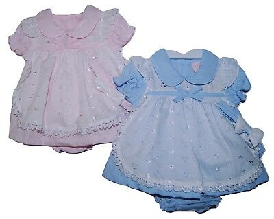Adorable Baby Girls Spanish Romany Style Apron Dress Pants Headband Set