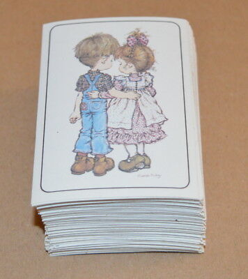 1980 Sarah Kay Complete Full Set of Stickers 144 PANINI Like