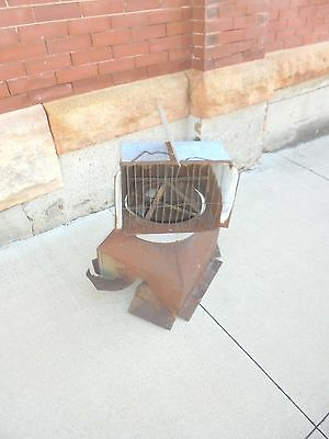 vintage galvanized metal barn air vent cupulo clay equipment cedar falls iowa