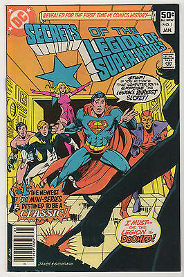 Secrets of Legion of Super-Heroes #1 #3 SUPERBOY #0 VF LOT (6) Anniversary #50