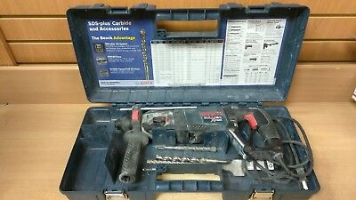 Bosch 11255VSR 1 in SDS-plus Corded Var Speed Rotary Hammer Drill w/ Case & ACCS