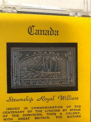 1833 Steamship Royal William Commemorative Stamp Qty 3