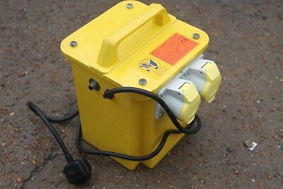 TWIN SOCKET 110v PORTABLE SITE TRANSFORMER