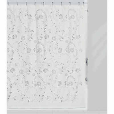 Eyelet Shower Curtain By Creative Bath Products White Standard