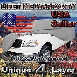 4 Layer Weatherproof Pickup Truck Cover For Ford F-150 F-100 1972-1979 CCT