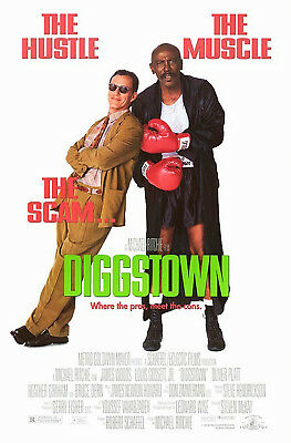 Diggstown (1992) Original Movie Poster  -  Rolled