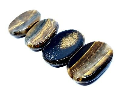 Tigers Eye AAA Grade Gemstone Thumb Stone Worry Stone Gemstone Crystal Stone