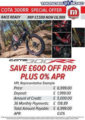 Montesa Honda Mrt300Rr Cota 300Rr 600 Saving Plus 36 Month 0% Finance Option