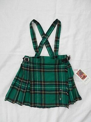 Child's O'Neil of Dublin Kilt in Green Lavery - Size 20 - NWT