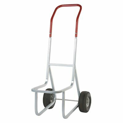 Raymond Products Stacked Chair Dolly with Airless Wheels, Gray/Red, 33.5L x 14