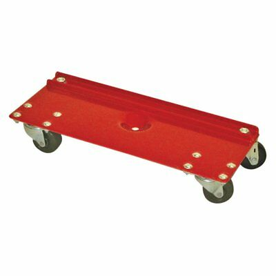 Raymond Products All Purpose Rectangular Dolly, Red, 19.75L x 8W x 3.5H in.