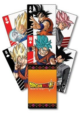*NEW RELEASE* Dragon Ball Super DBZ 🐉 Playing Poker Cards  AUTHENTIC LICENSED