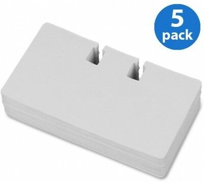 Lorell Desktop Rotary Card File Refill, 100 Cards, Pack Of 5