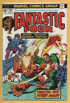 Fantastic Four #148 Frightful Four! July 1974, Marvel, 1961 Series VF/NM