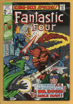 Fantastic Four Annual #7 King Size Special Nov 1969, Marvel, 1963 Series VF+