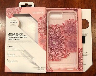 Tech 21 Evo Check Evoke Edition. Pink & Red. iPhone 8 Plus/7 Plus. Gorgeous! NIB