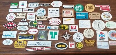 Over 50 Assorted Oilfield Oil Gas Hard Hat Skull Guard  Stickers