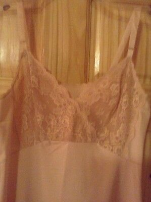 shadow line full size slip beige with lace bodice