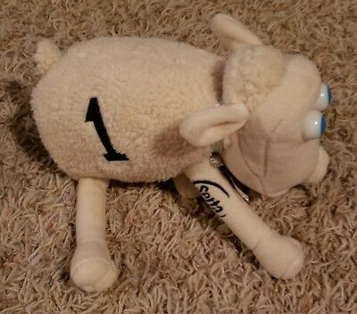 serta mattress sheep. SERTA Mattress Plush Counting # 1 SHEEP Doll Stuffed Animal White Toy Serta Sheep