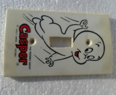 VTG 60s CASPER THE FRIENDLY GHOST LIGHT SWITCH PLATE