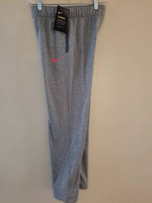 New NIKE Therma Fleece Lined Athletic Pants Girls SIZE M